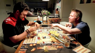 Bas and Leroy fighting over some land at Kemet