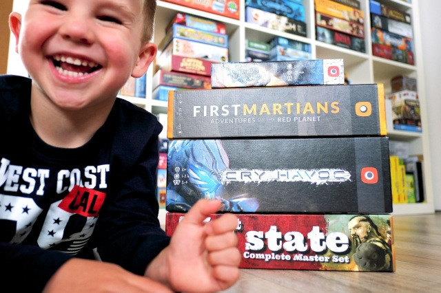 My little boy loves his Portal games!