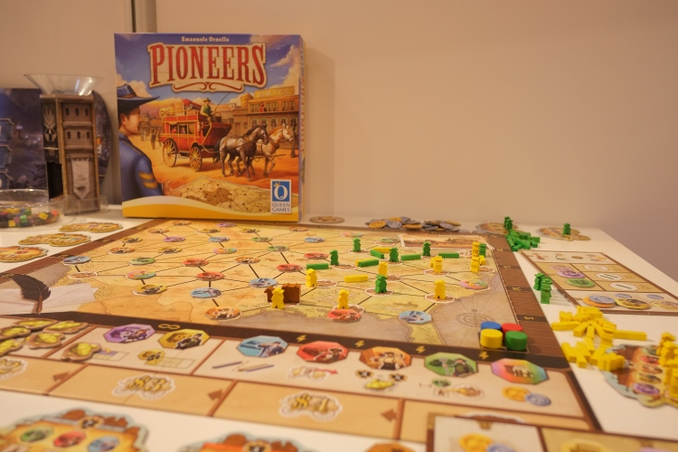 Pioneers Queen Games