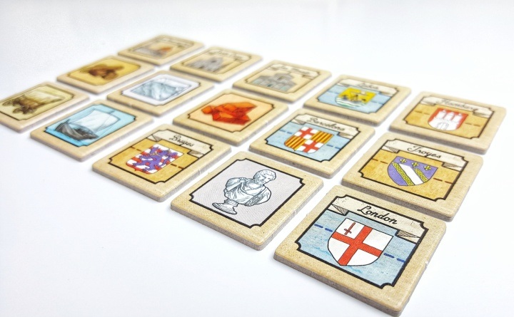 When cloth finishers and merchants still ruled the world. A Calimala board game preview