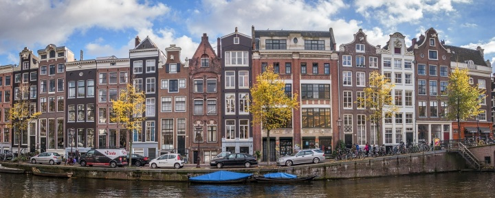 Amsterdam Canals Houses