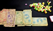 Some nice looking thick paper money and colorful cubes. Only we as gamers can see the beauty in this right?