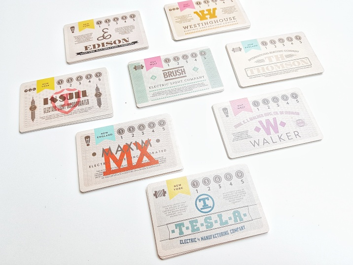 The 8 packs of stocks in the game