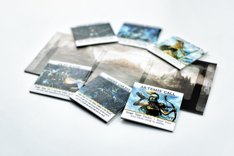 Kickstarter preview omen a reign of war tiles and their artworkt