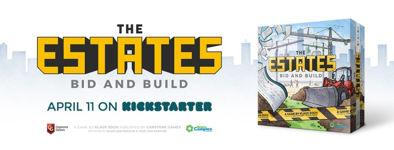 Kickstarter the Estates by Capstone games and Simply Complex