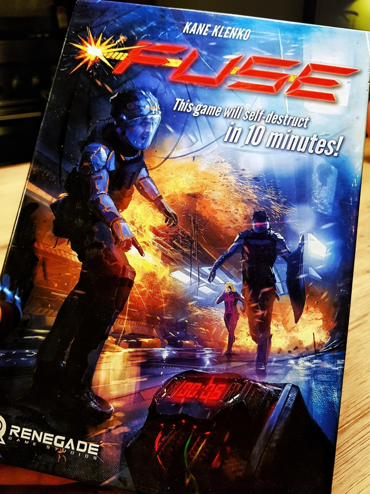 Fuse dice game by Renegade Games