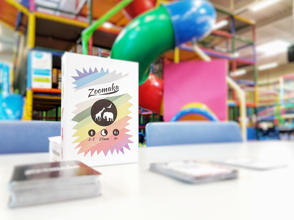 Zoomaka building your own zoo at the kids indoor playground