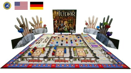 Tudor board game from Academy Games on Kickstarter
