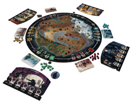 World Shapers board game