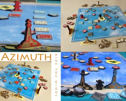 Azimuth board game on Kickstarter