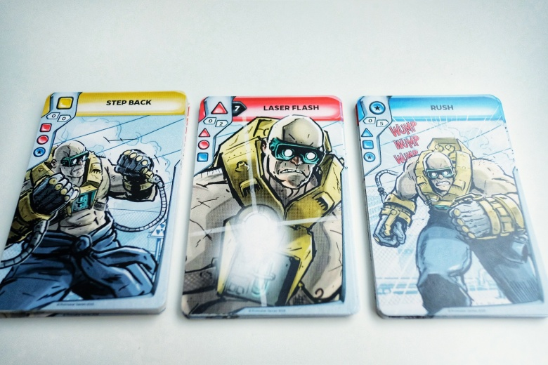 Combo Fighter Boris Wolfram cards