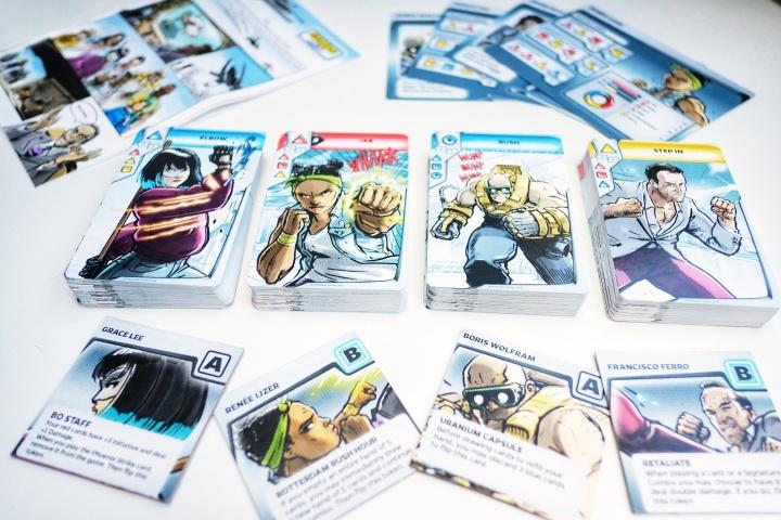 Character decks Combo Fighter base pledge
