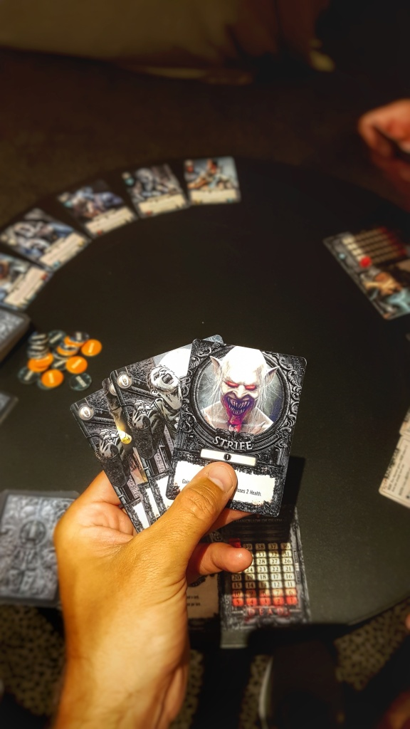 influence cards from terrors of london