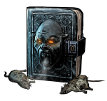 Book of the Dead cutout
