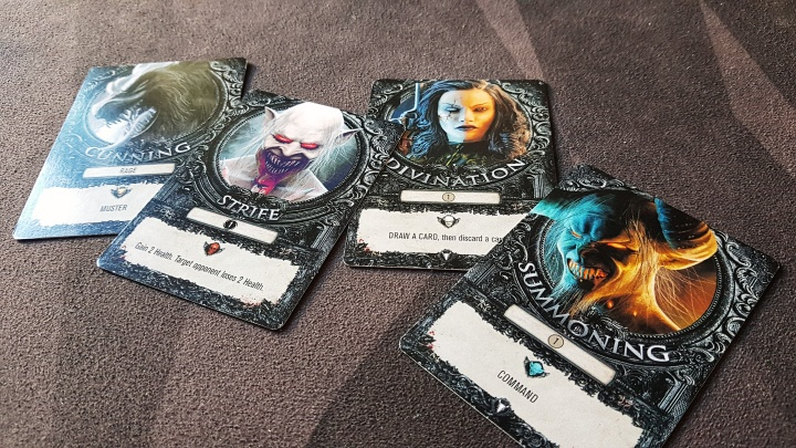 overlords power cards from terrors of london by kolossal games