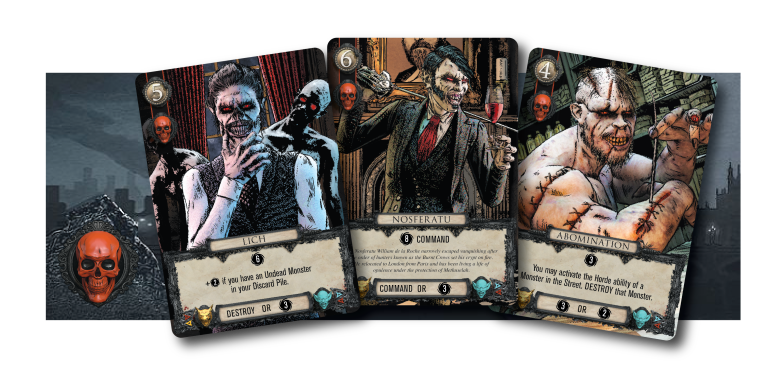 Undead monsters from Kolossal Games Terror of London
