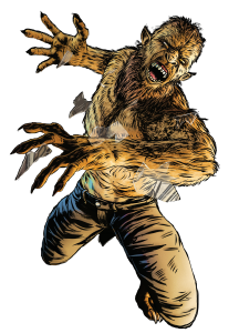 WolfMan Cutout