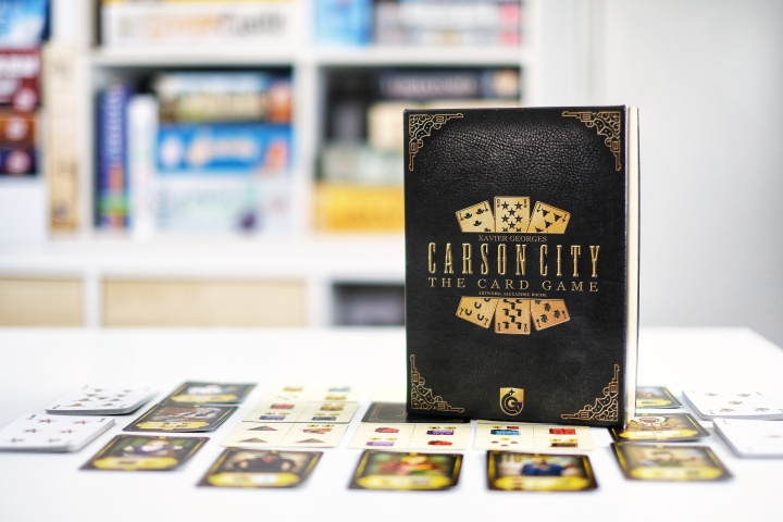 Carson City The Card Game, did you know that there is a cowboy code? A CrossWordreview.