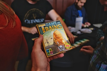 Boosterbox and it's Game of Trains.