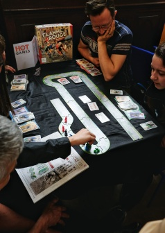 Our all time favorite race game, Flamme Rouge, from HOT Games.