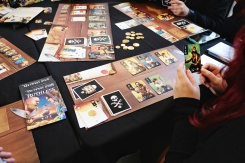 Great playmats Ruthless by Alley cat Games and art & design by Roland MacDonald