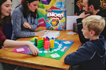 Bloqs by Pumpkin Games, looks just stunning out on the table and is fun for the whole family.