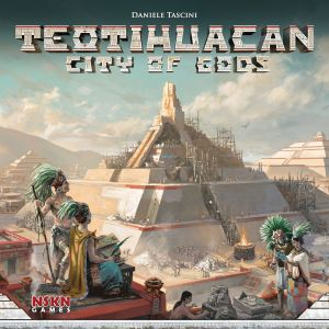 Teotihuacan City of Gods by NSKN Games and Daniele Tascini