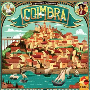 Coimbra by eggertspiele and from Virginio Gigli & Flaminia Brasini