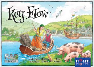 Key Flow by R&D Games and Huch! Sebastian Bleasdale and Richard Breese