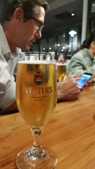 Veltins Beer at Shabu Shabu Essen with Robert van Zyl