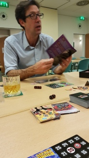 Robert van Zyl playing Epic Spell Wars of the Battle Wizards: Panic at the Pleasure Palace