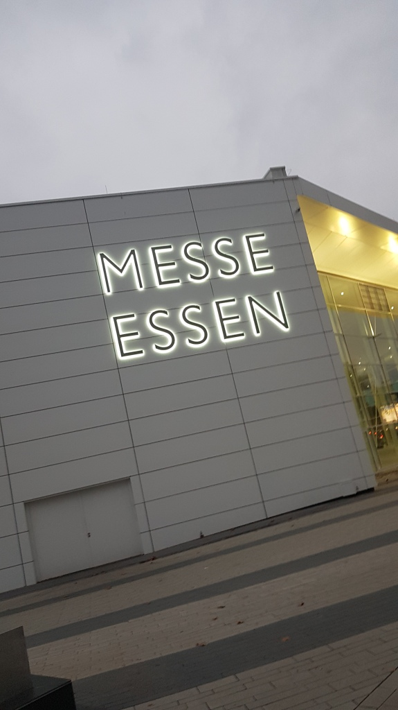 Messe Essen Sign