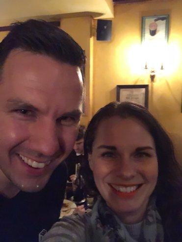 Selfie at Fitzpatrick Essen Jess Marlon Heavycardboard Meetup