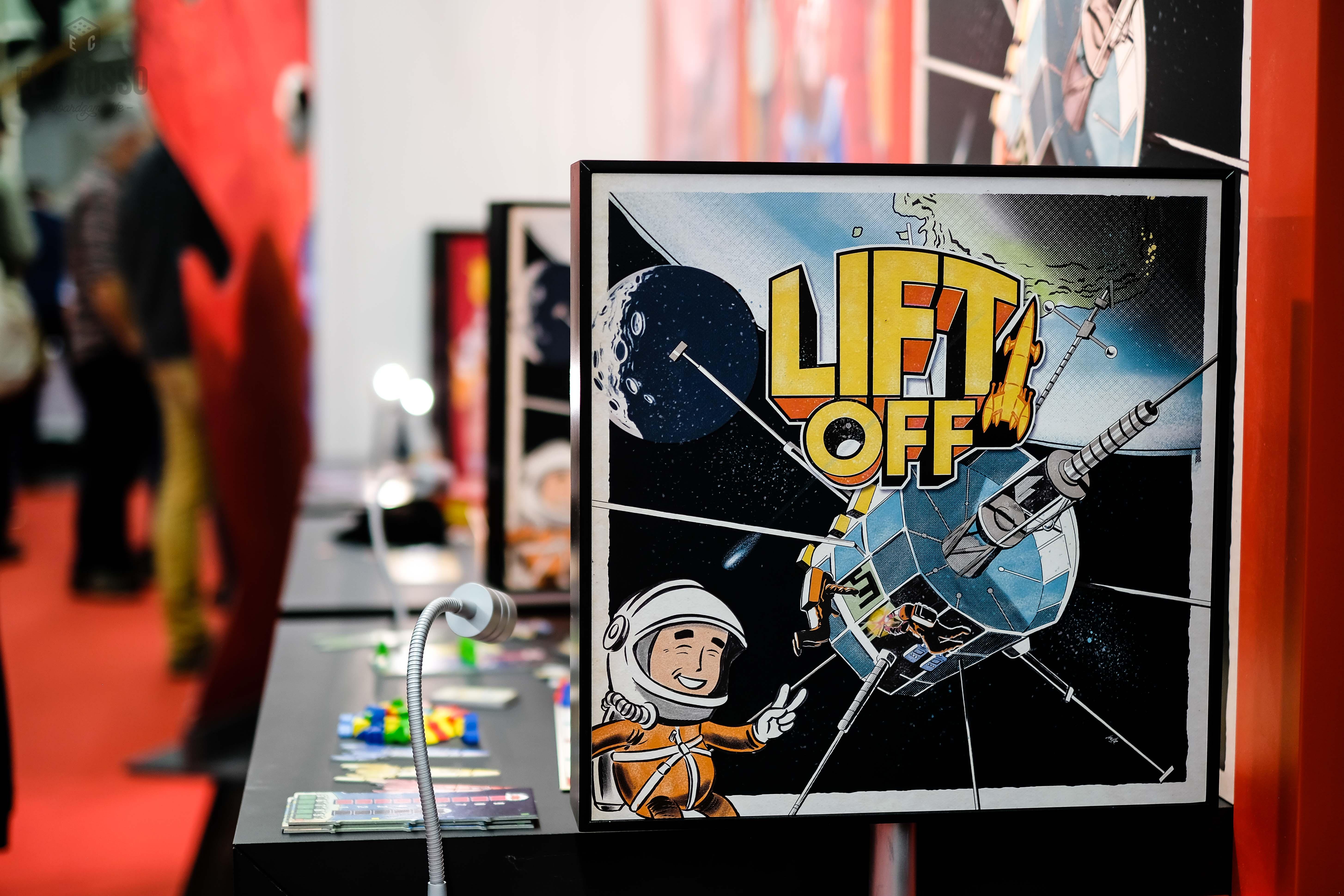 Lift Off by Hans im Glück at Spiel 2018 Demo Hall