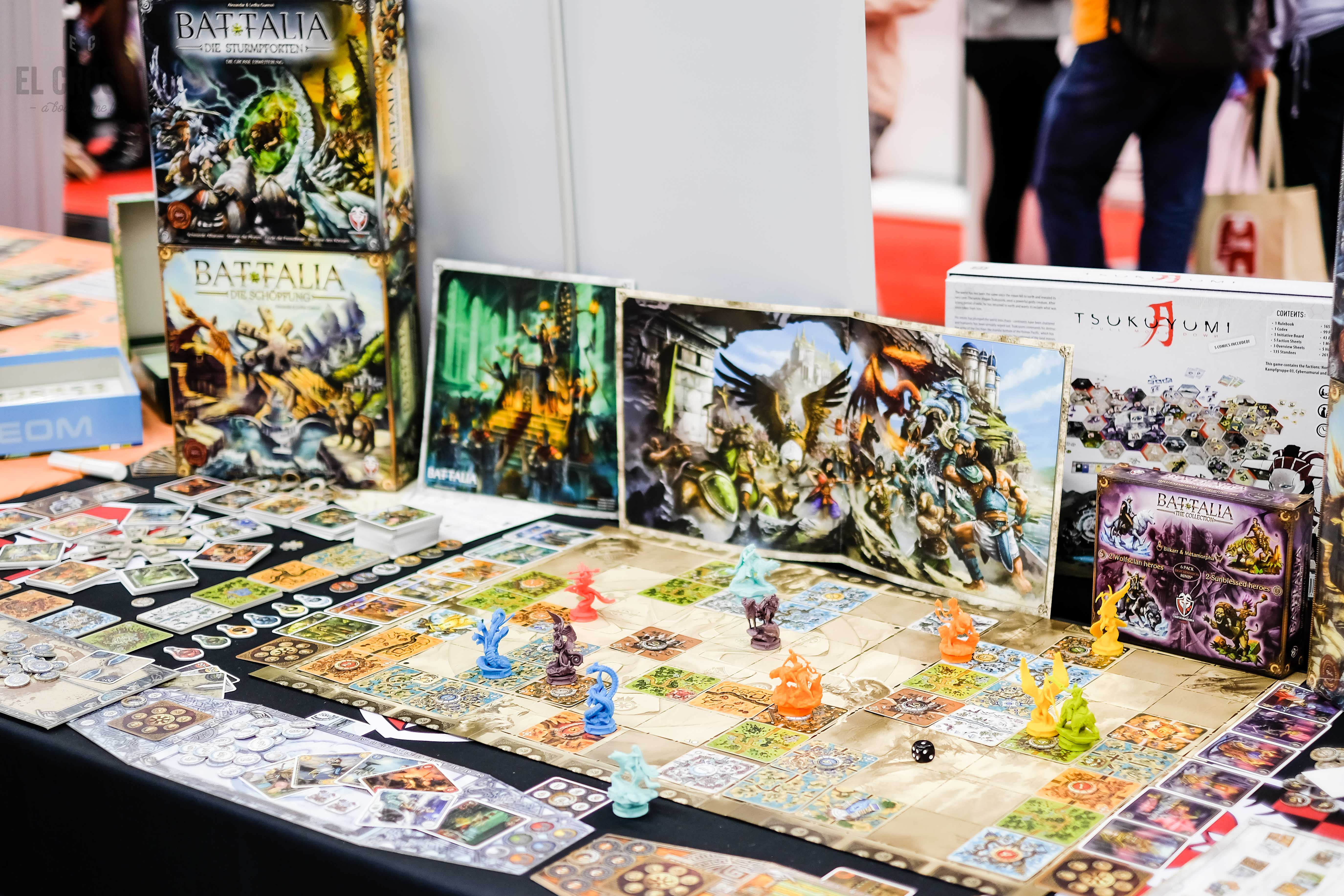Spiel 2018 Battalia and expansions by Fantasmagoria