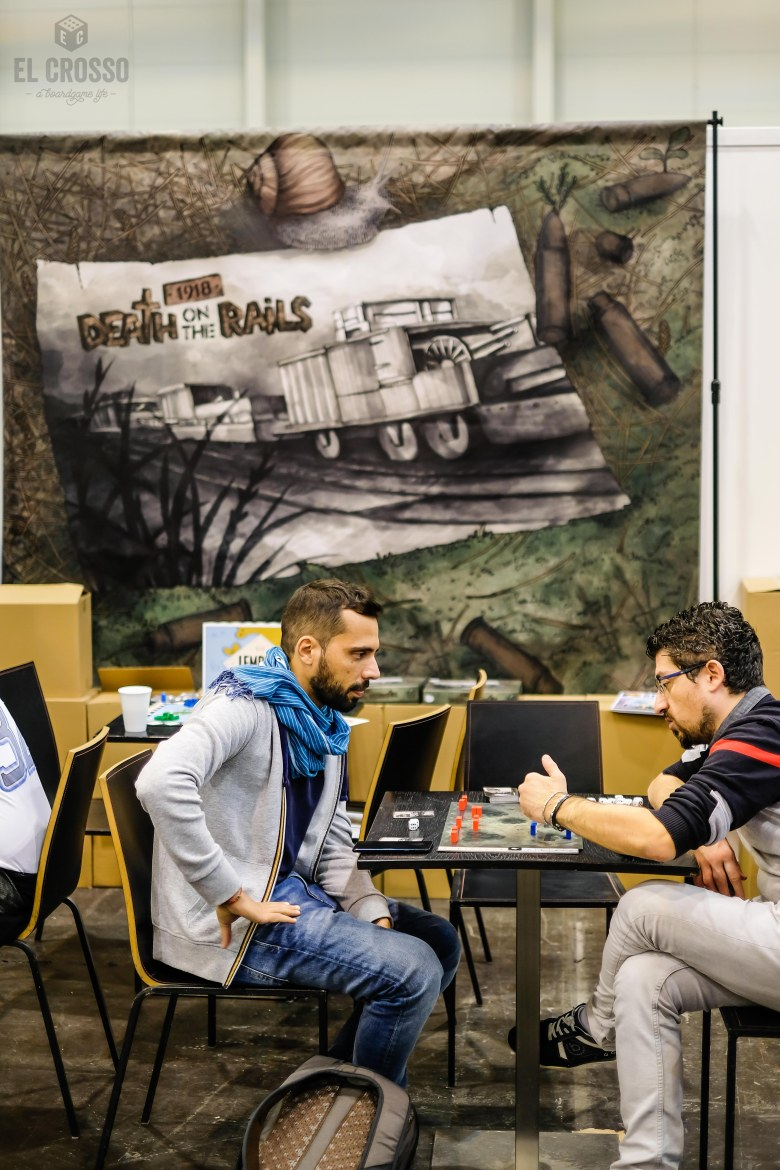 Spiel 2018 1918 Death on Rails by 2D6.EE