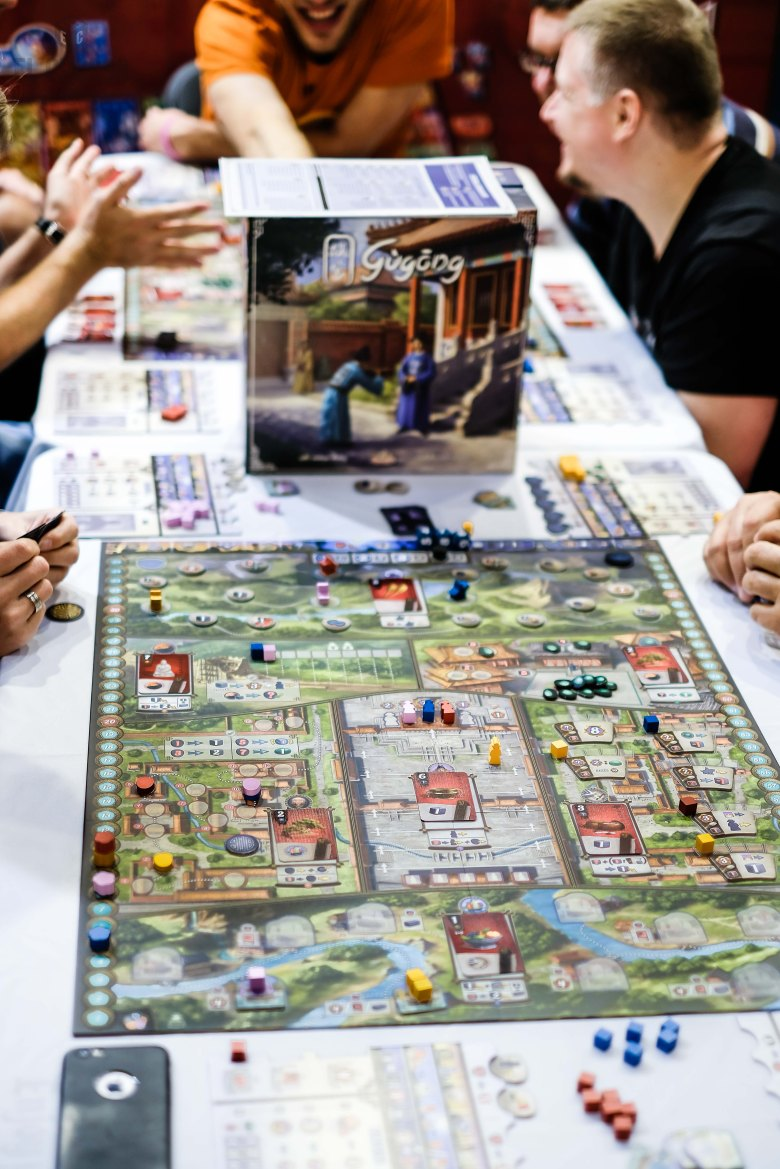 Spiel 2018 Gugong by Game Brewer & TMG