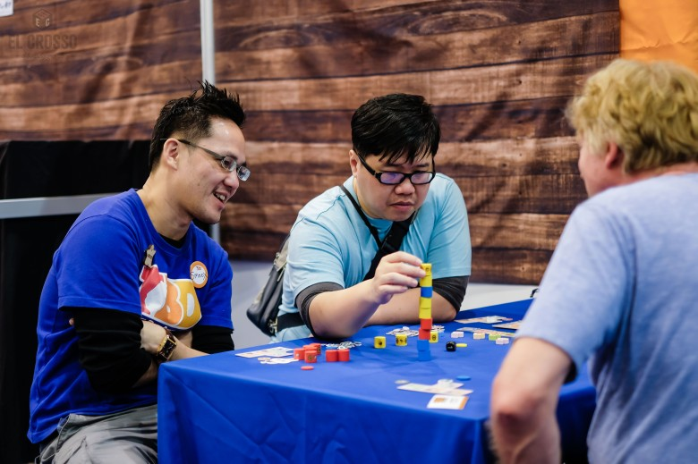 Spiel 2018 Smoox from the Taiwanese Boardgame Design group