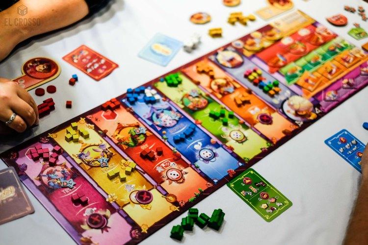 Spiel 2018 Festo by Game Brewer main board