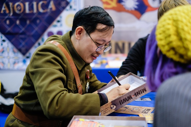 Spiel 2018 Mini WWII by Formosa Force Games from Wei-Cheng Cheng, Zhi-Jian Yuan