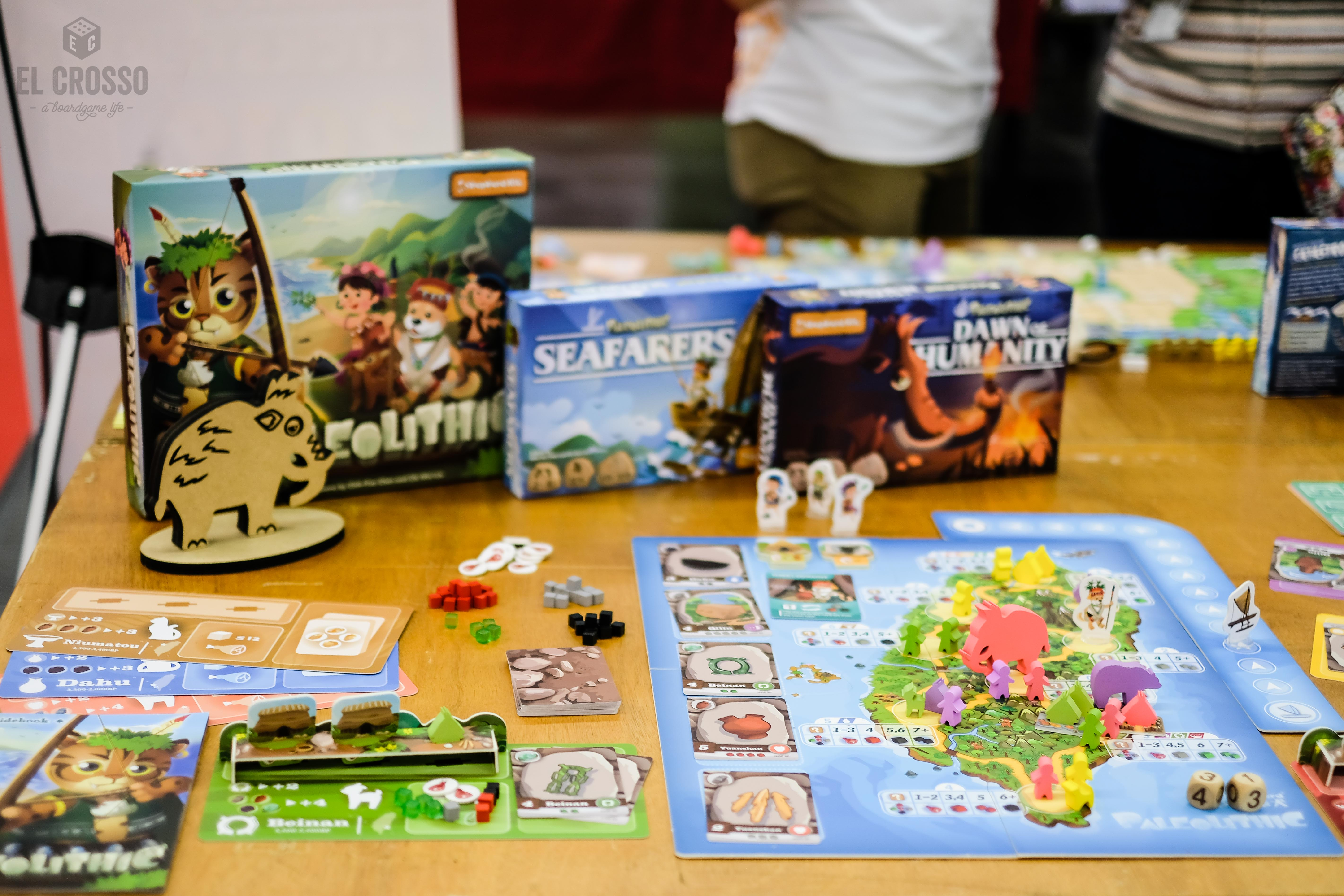 Spiel 2018 Paleolithic by Shepherd Kit overview