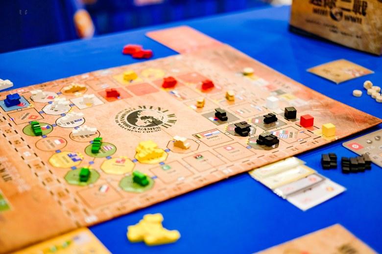 Spiel 2018 Mini WWII by Formosa Force Games from Wei-Cheng Cheng, Zhi-Jian Yuan main board