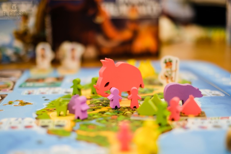 Spiel 2018 Paleolithic by Shepherd Kit Animeeples