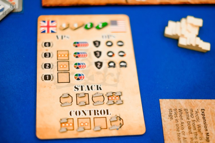 Spiel 2018 Mini WWII by Formosa Force Games player aid