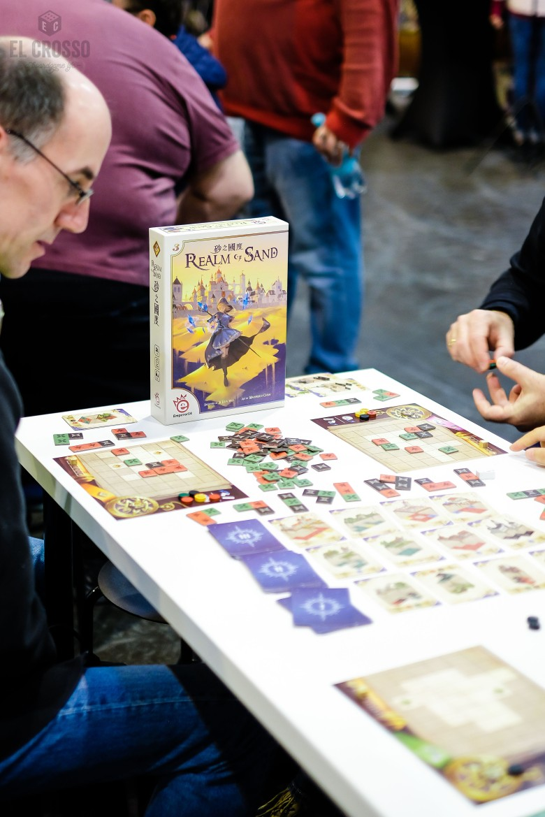 Spiel 2018 Realm of Sand by Emporers4