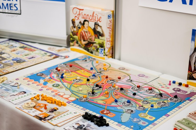Spiel 2018 Franchise by Queen Games