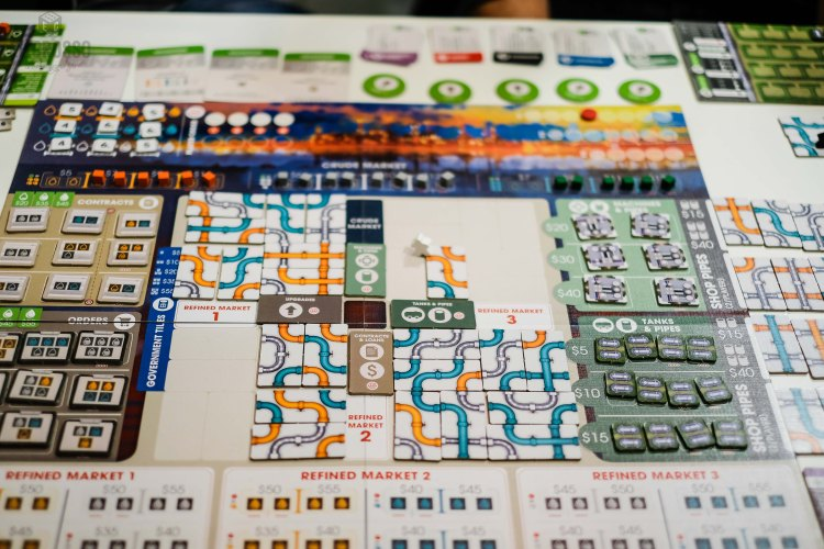 Pipeline by Capstone Games Ian O'Toole Artwork
