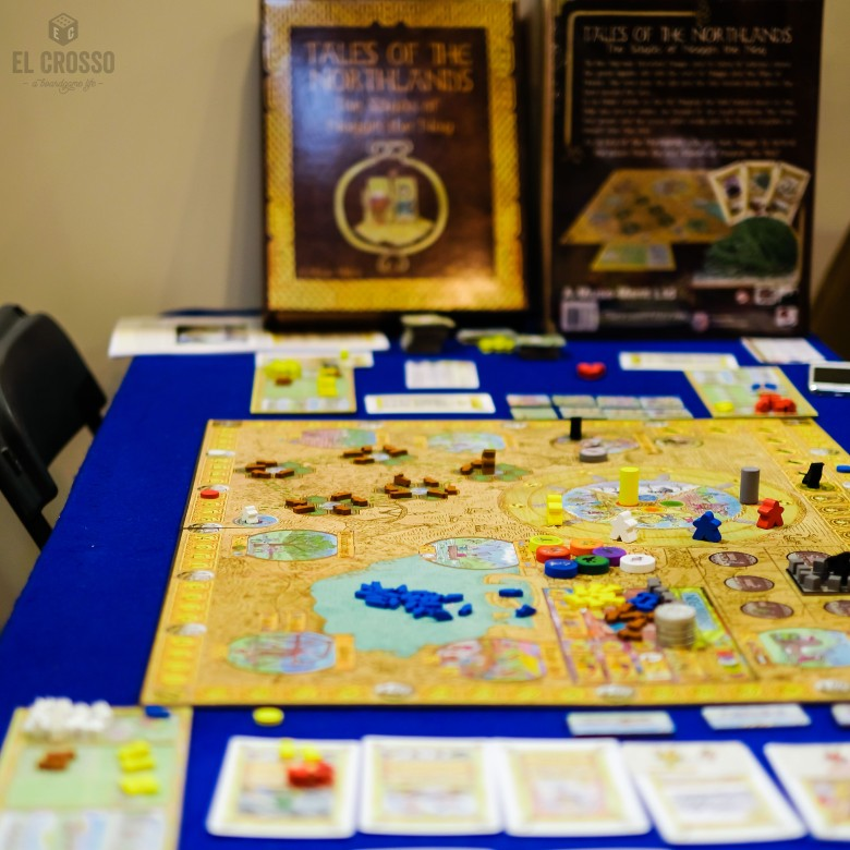 Spiel 2018 Tales of the Northlands The Sagas of Noggin the Nog by Nick Case game board
