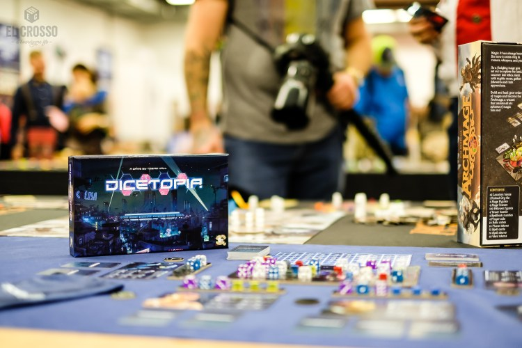 Spiel 2018 Dicetopia by All or None Games