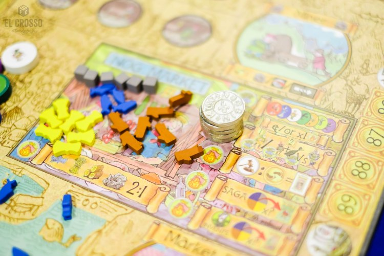 Spiel 2018 Tales of the Northlands The Sagas of Noggin the Nog by Nick Case components